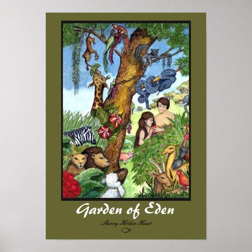 Garden Of Eden Landscape: Garden Of Eden Print