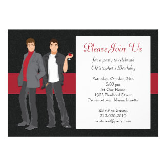 Gay Party Invitations 79