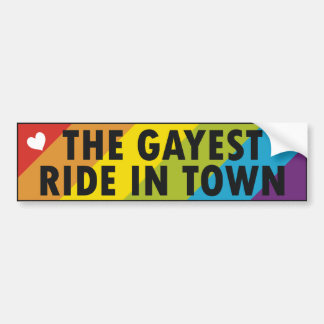 Bumper Sticker Gay 104