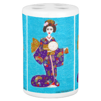 Japanese Geisha Bath Sets - Japanese Geisha Bathroom Sets ...