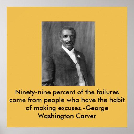 George Washington Carver Poster