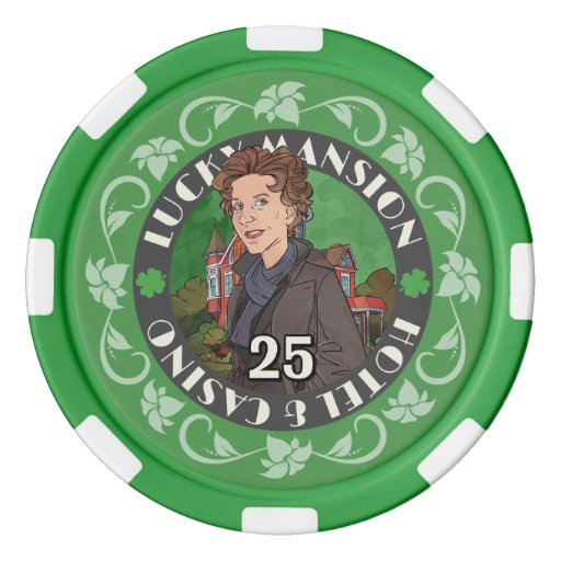 Get Lucky Poker Chips | Zazzle