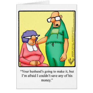 well humor card funny spectickles soon jokes cards cartoons humorous cartoon greeting zazzle recovery speedy wishing comics dad nz medical