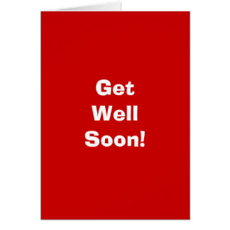 Humorous Get Well Soon Cards Zazzle