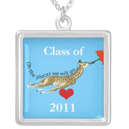 Giraffe Oh The Places We Will Go Graduation Custom