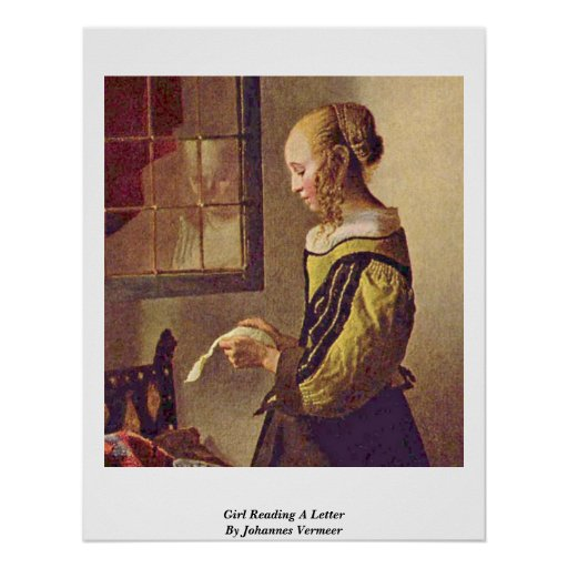 Woman writing a letter vermeer chipper