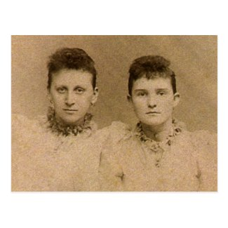 Girlfriends circa 1890