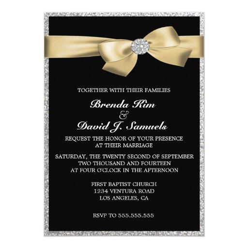 Www Zazzle Com Wedding Invitations: Glitter Wedding Invitation