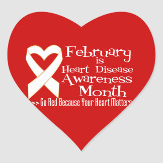 February's American Heart Month…Spread the Word with ...  |For Heart Month Wear Red