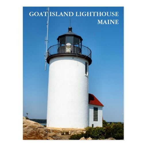 New York, Newport, and Cape Cod – Light And Matter  Goat Island Lighthouse