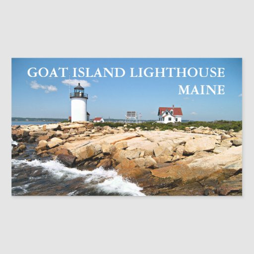 Find historic Maine lighthouses. A living legacy. - Visit ...  Goat Island Lighthouse