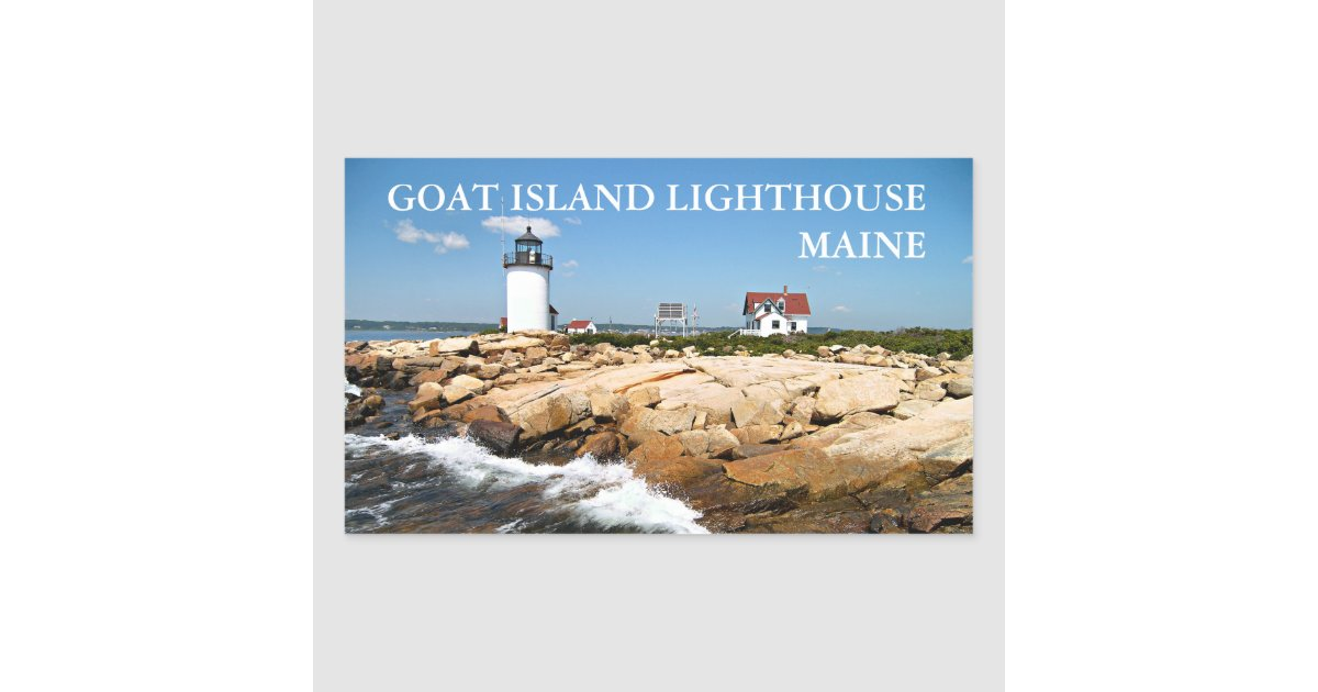 My World in Pennsylvania and Beyond: Cape Porpoise and ...  Goat Island Lighthouse