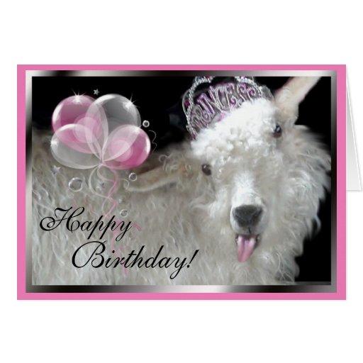 Happy birthday goat - photo#52