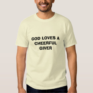 God Loves a Cheerful Giver Essay Sample
