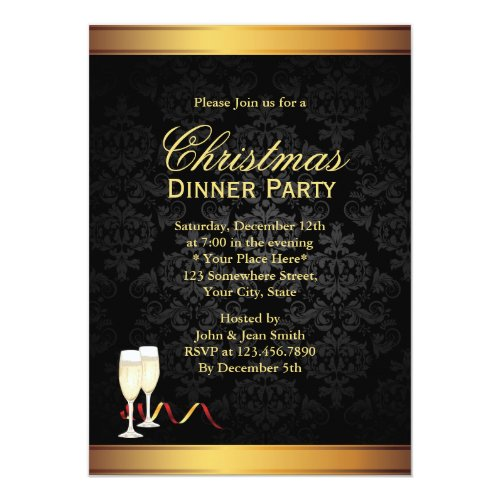 Dinner Party Invitations: Top 50 Christmas Dinner Party Invitations