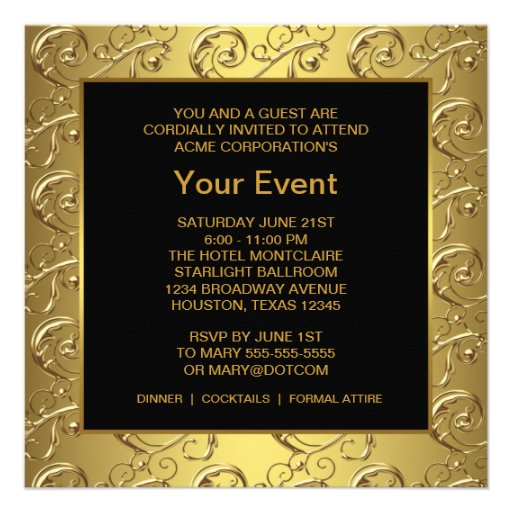 Event Invitation Template