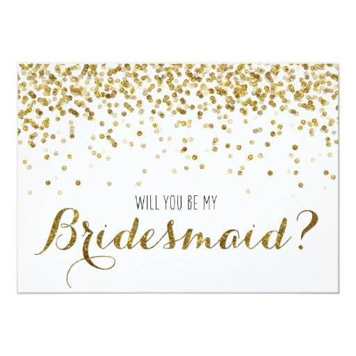 Personalized Bridesmaid Party Invitations