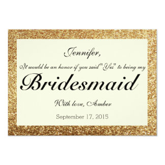 Will You Be My Bridesmaid Invitations Amp Announcements Zazzle