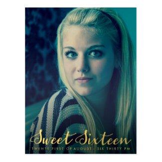 seventeen magazine cover template - sweet 16 sixteen magazine cover photo invite zazzle