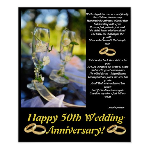 Golden Anniversary Poster