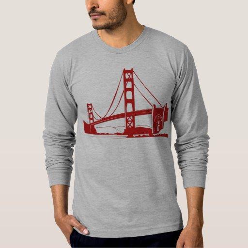 Golden Gate Bridge San Francisco Ca T Shirt Zazzle