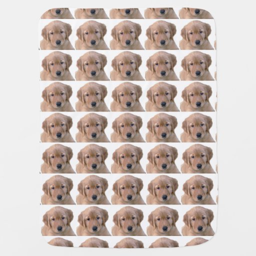 Golden Retriever Baby Blanket Zazzle