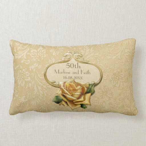 Personalized 50th Wedding Anniversary, Geese Throw Pillow ... |50th Wedding Anniversary Pillows