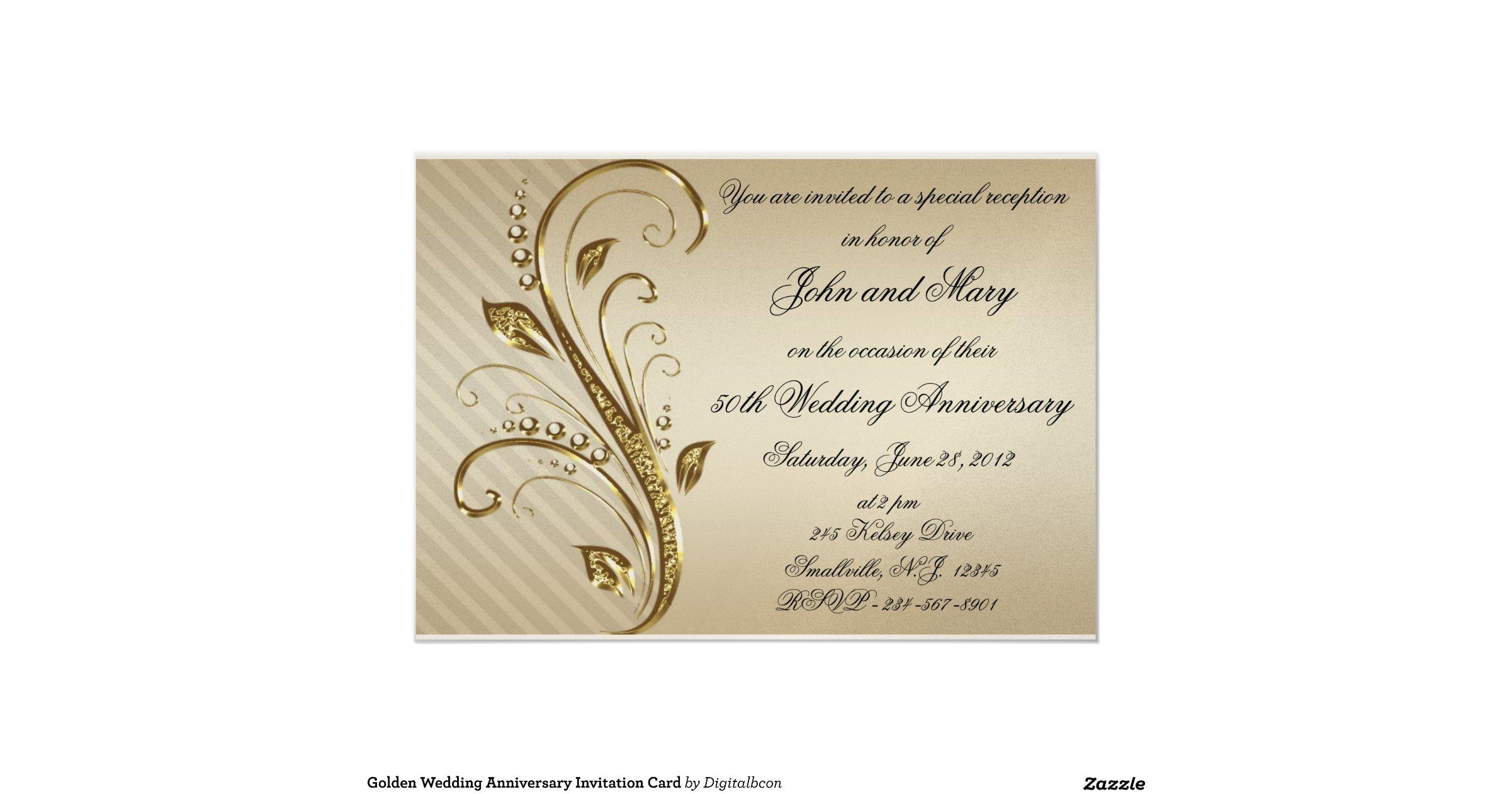 Golden Wedding Anniversary Invitations: Golden_wedding_anniversary_invitation_card
