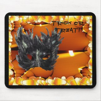 Gothic Mask Trick Or Treat Merchandise mousepad