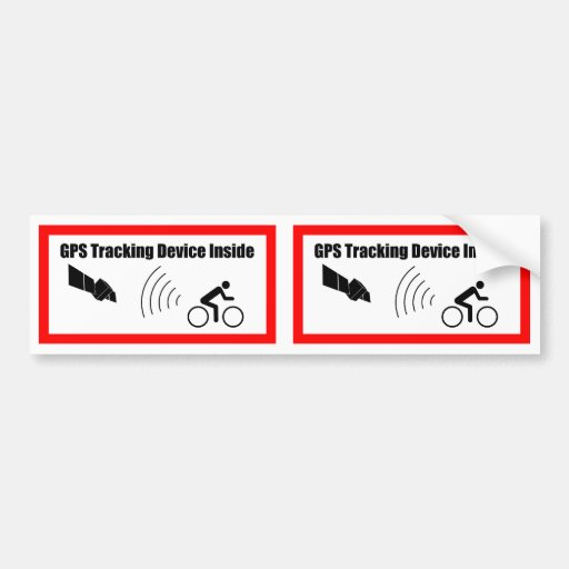 Gps Tracking Device For Cars >> GPS Tracking Device Inside Bumper Sticker | Zazzle