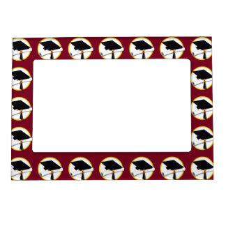 Graduation Magnetic Picture Frames | ZazzleRed Graduation Borders