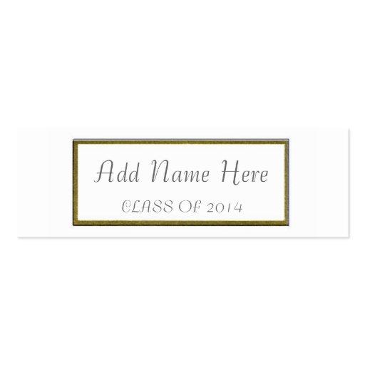 GRADUATION NAME CARD BUSINESS TEMPLATE