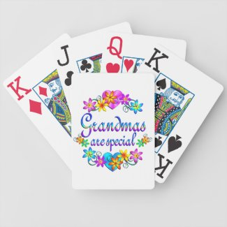 Grandmas are Special Bicycle Card Deck