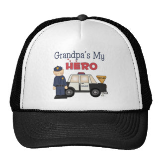 Police Officer Hats and Police Officer Trucker Hat Designs