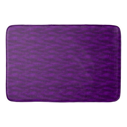Grape Purple Water Bathroom Mat Zazzle