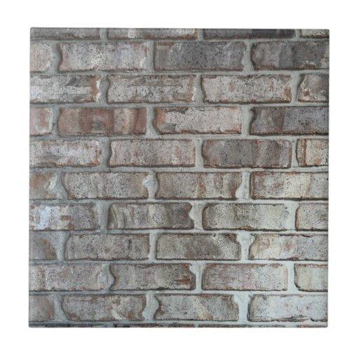 Gray Brick Wall Grunge Bricks Background Texture Ceramic ...