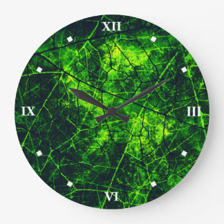 White Roman Numerals Wall Clocks Zazzle