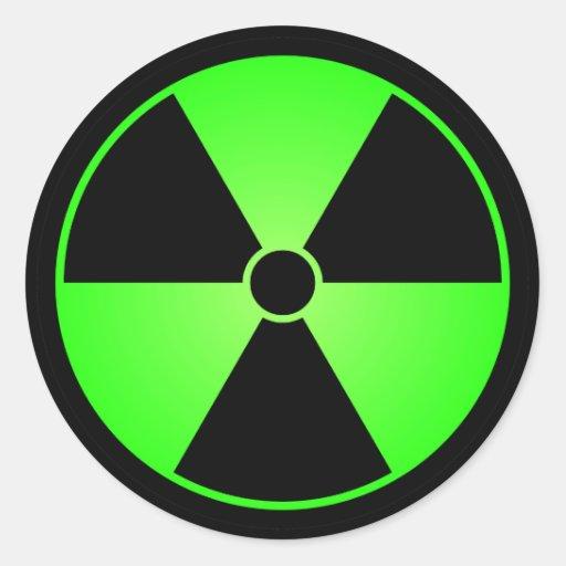 Gamma Radiation Symbol...
