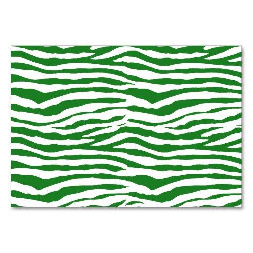 green zebra stripes card zazzle. Black Bedroom Furniture Sets. Home Design Ideas