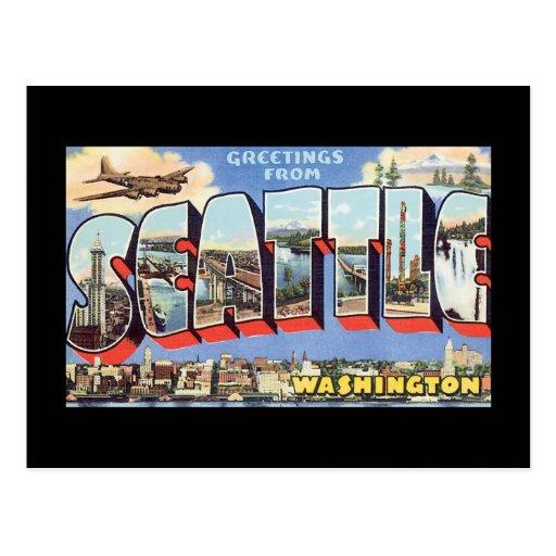 Vintage Seattle Postcards 54