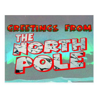 Santa Claus North Pole Express by Mailbox Happiness-Angee ... |North Pole Postcards