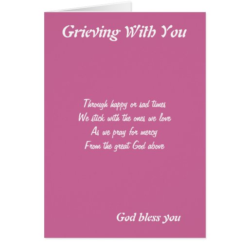 Grieving With You Greeting Cards