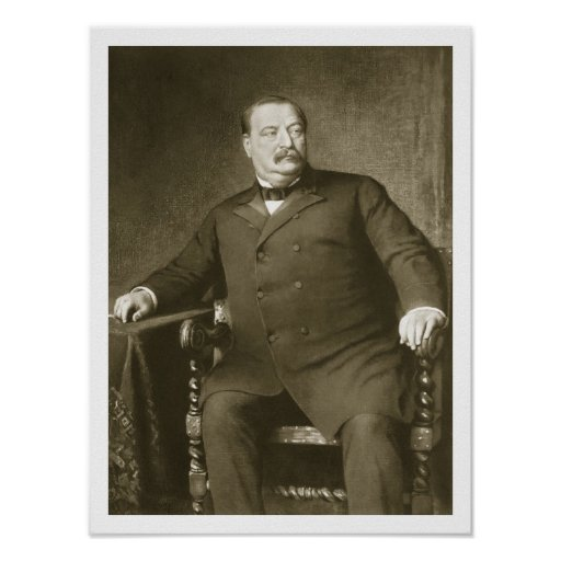 Grover Cleveland Quotes: Grover Cleveland, 22nd And 24th President Of Th Un Poster