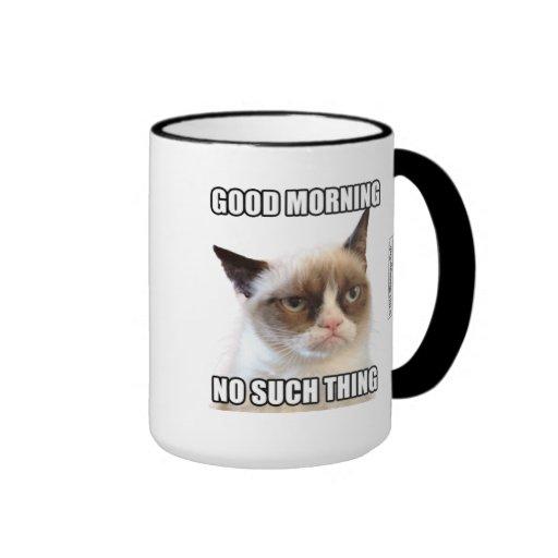Grumpy cat good morning no such thing ringer coffee mug r3547b19cf93c4ee6a8659c53713d453e x76x5 8byvr 512