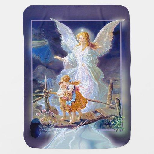 Guardian Angel Baby Blanket Zazzle