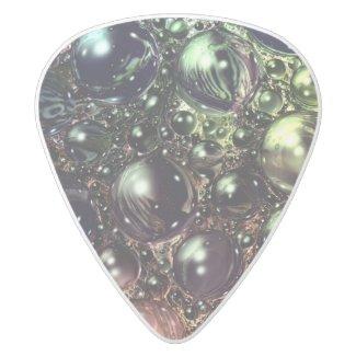 Guitar Pick with Original Artful Oasis Digital Art