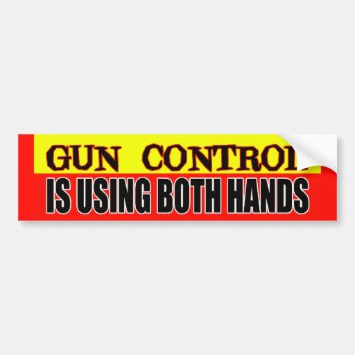 Gun control now bumper sticker | Zazzle.com |Gun Bumper Stickers