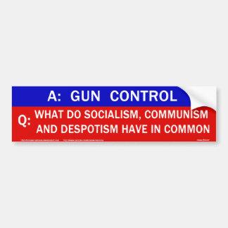 Gun Control Now Bumper Sticker Car Bumper Sticker | Zazzle |Gun Bumper Stickers