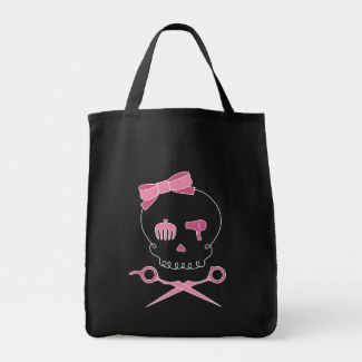 Pink Skull Style - Available at Zazzle