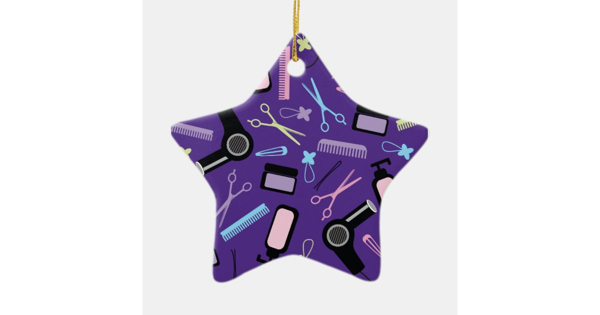 Hair Stylist Gift Idea Ceramic Ornament Zazzle